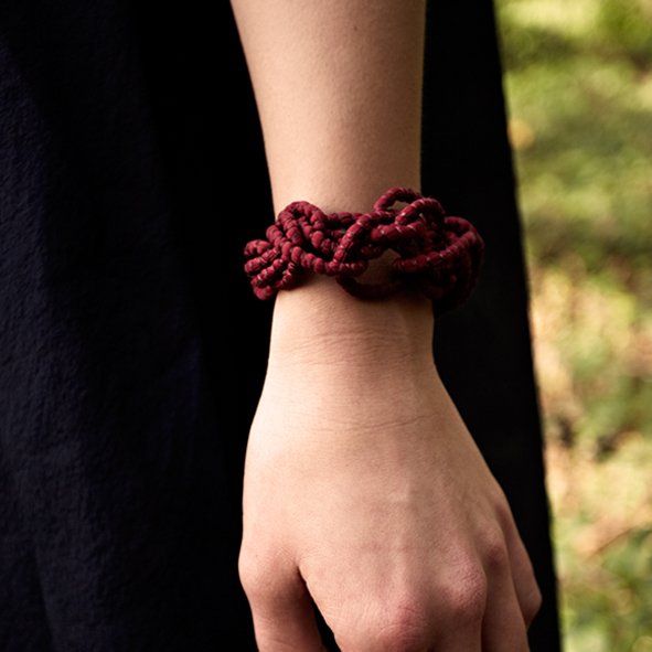 Maroon-Looped--Bracelet-Tanvi-Kant.jpg