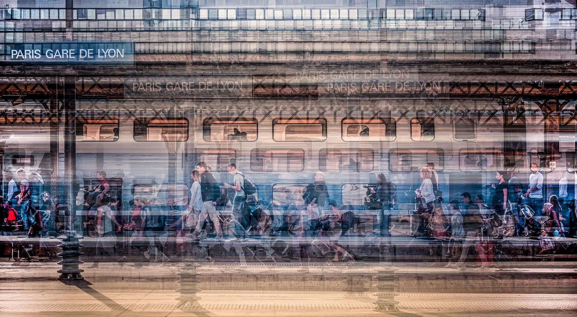 Quai Paris Gare de Lyon
