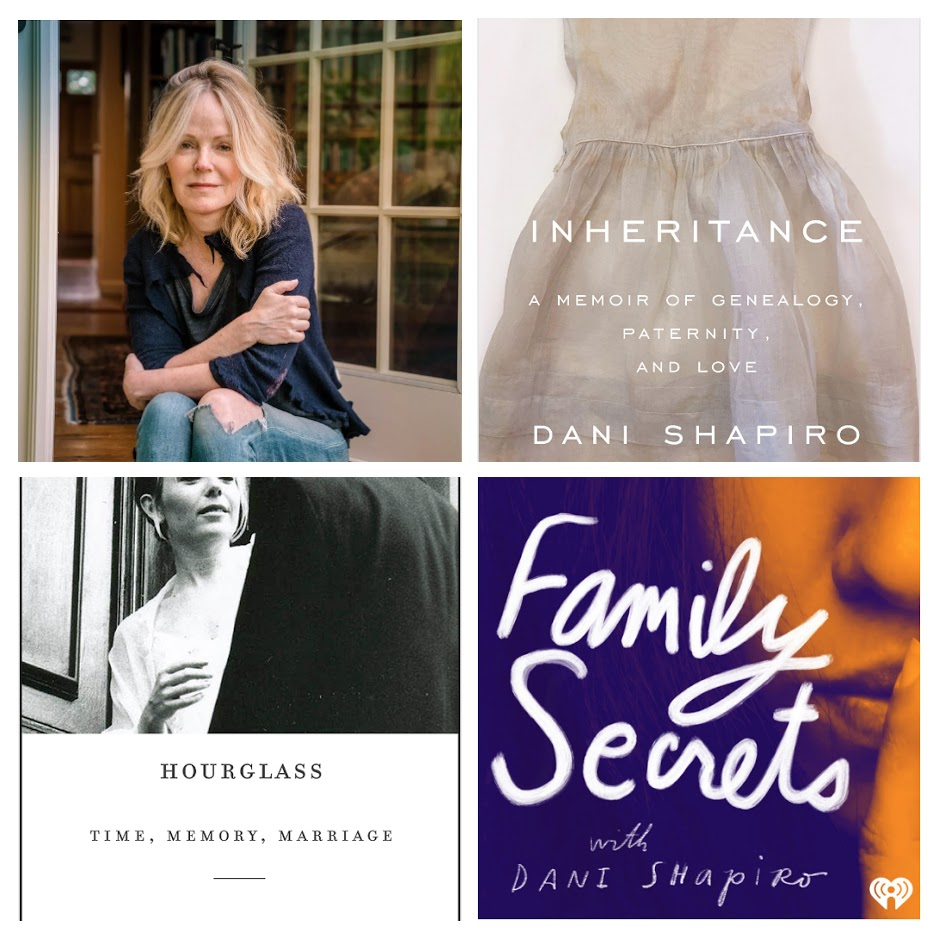 Dani Shapiro - Click to Purchase Tickets - Author and PodcasterAugust 1, 7-9 pm at Duxbury Bay Maritime School