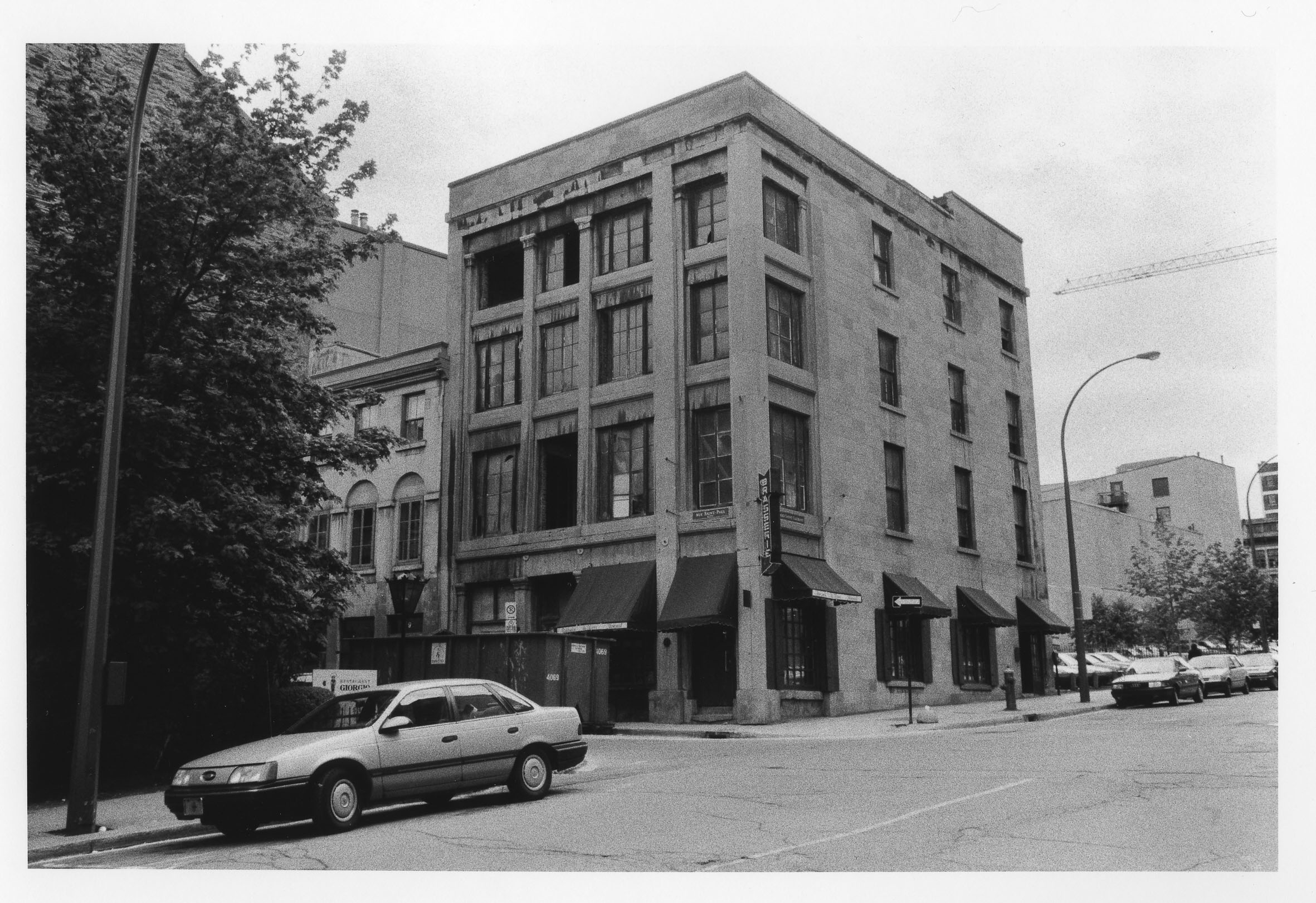 Studio de la rue St Paul, Vieux Montréal,circa 1970