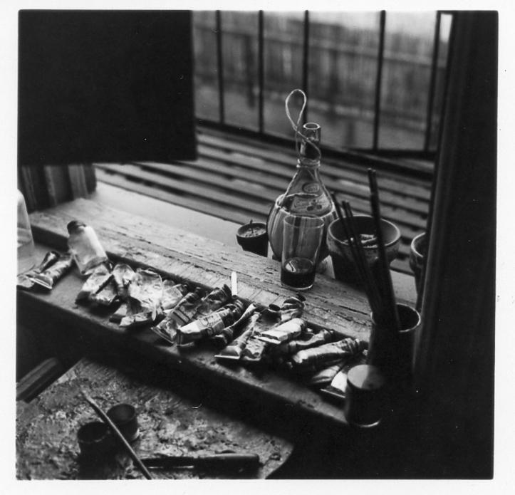 Studio, Madison Ave NYC, 1956