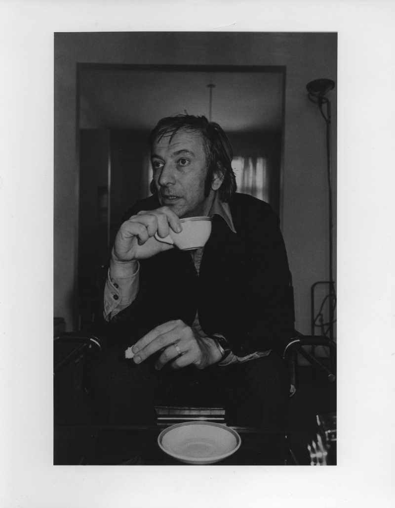Charles Gagnon portrait by Lee Friedlander, 1976
