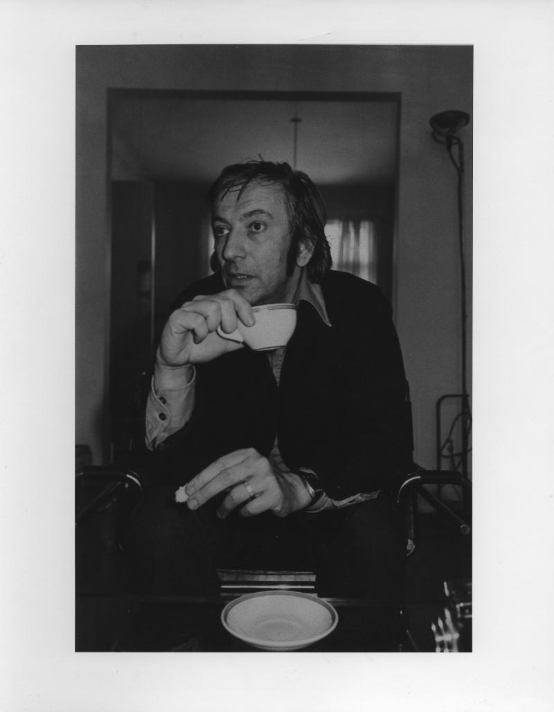 Charles Gagnon portrait par Lee Friedlander, 1976