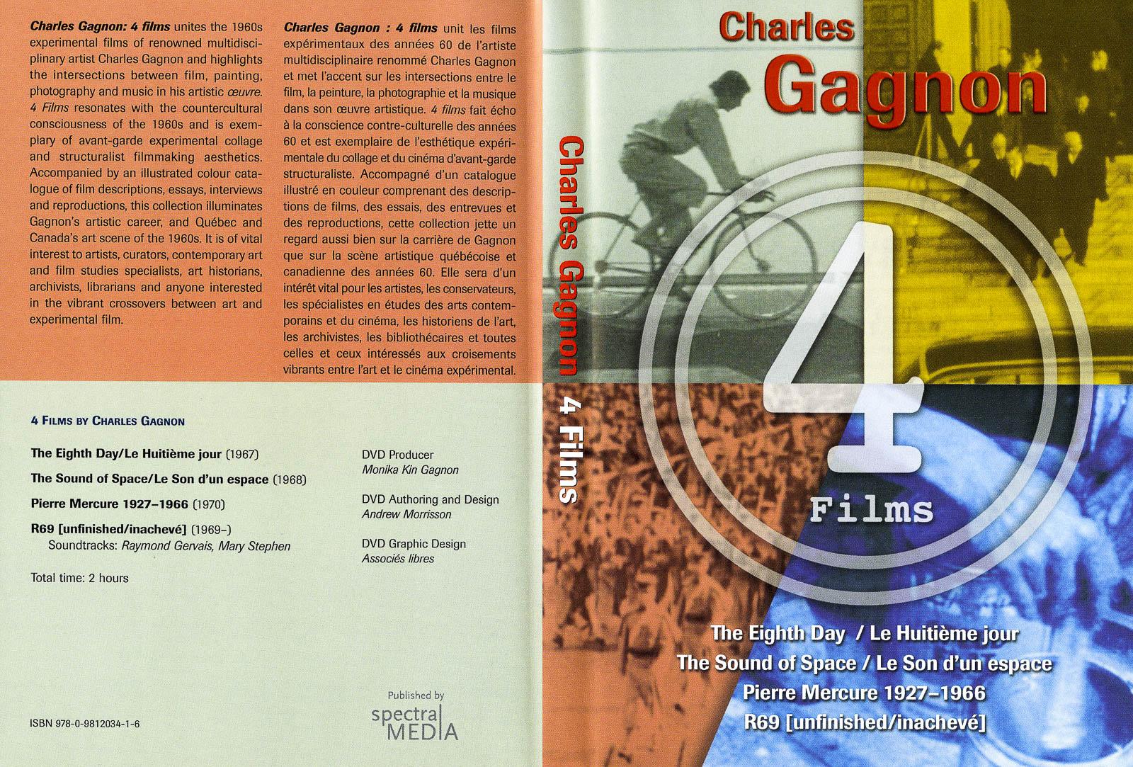 Charles Gagnon, 4 Films DVD cover