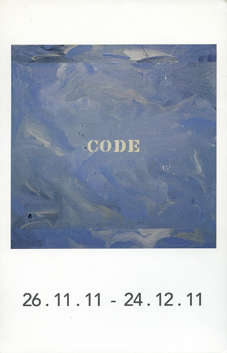 Galerie Roger Bellemare-Christian Lambert exhibition invitation, 2011
