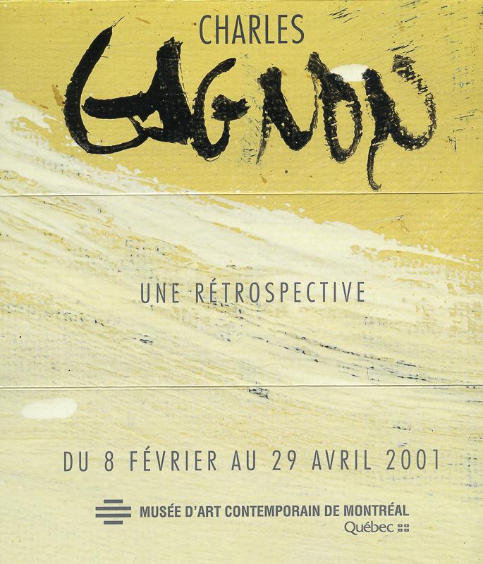 invitation à la rétrospective du MACM, 2001