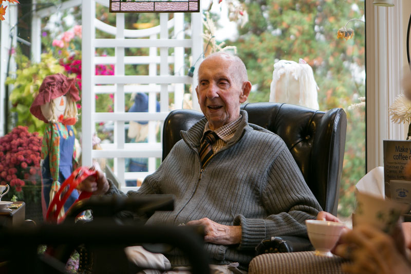 Chet - senior living at the Prairie Valley Lodge
