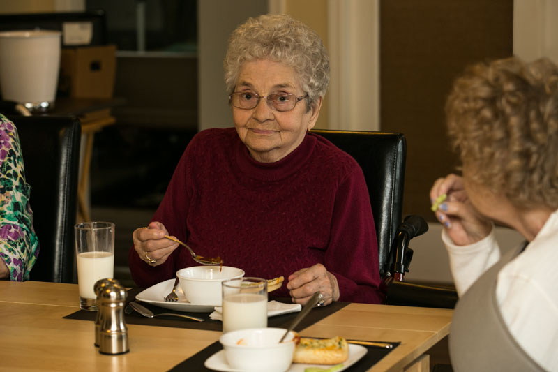 Meals at Prairie Valley Lodge
