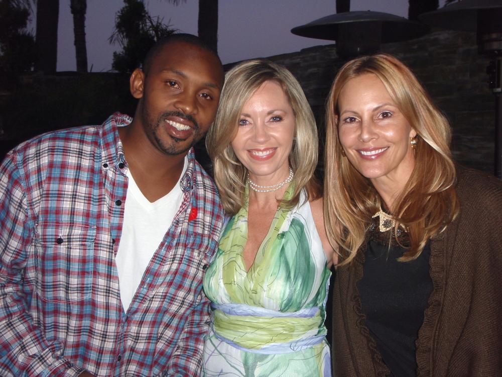 Celebrating PSILY Foundation's 10th Anniversary with R&B Artist Mumtaz Wonder (left) and PSILY Founder Patricia Jones