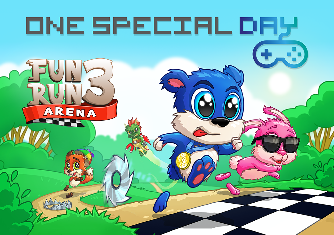 One Special Day - We were proud to take part in #OneSpecialDay to raise money and awareness for the amazing charity Special Effect. By donating revenue from Fun Run 3 we want to help create magic moments for gamers with disabilities, and their families. Read more here: http://onespecialday.org.uk/