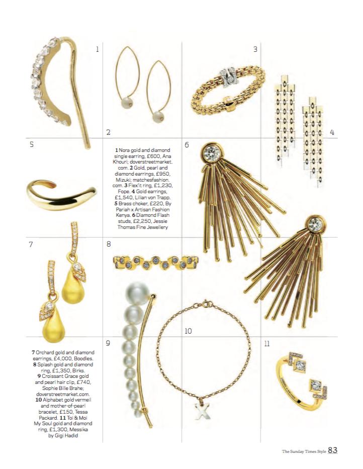 Style, the Sunday Times Magazine