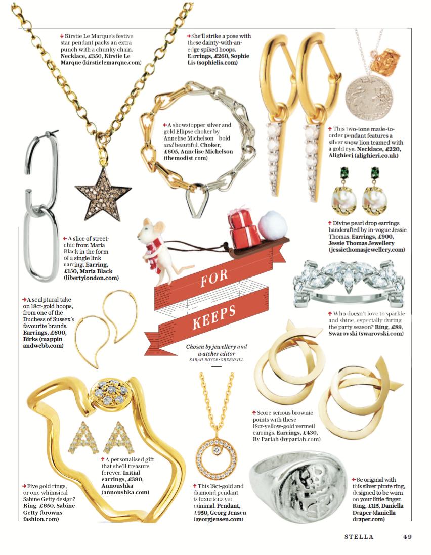 Giftguide, Stella Magazine