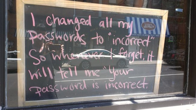 Creating and using good passwords