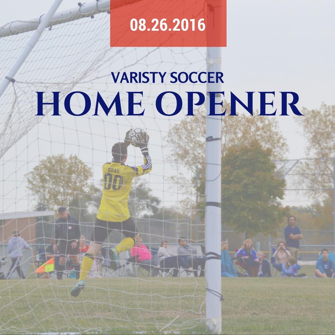 Parkway Christian School Varsity Soccer Home Opener