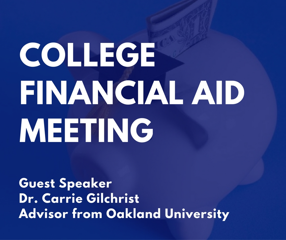PCS College Financial Aid Meeting