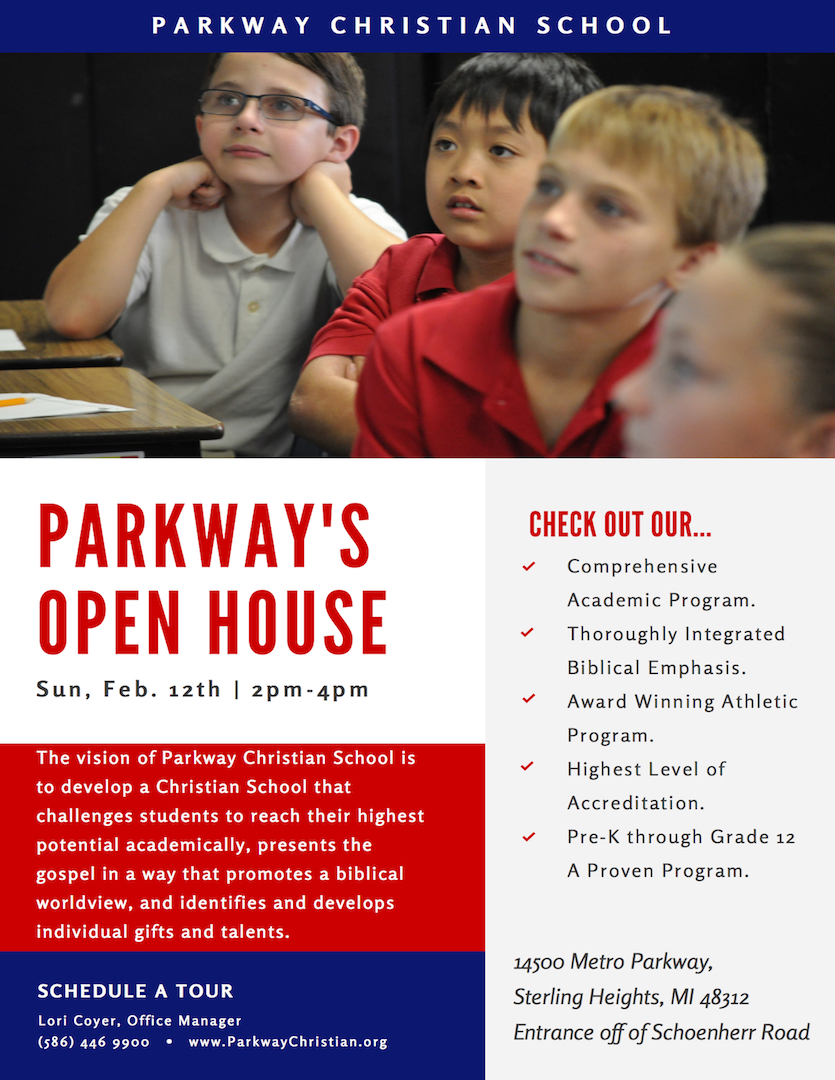 Parkway Christian School Open House