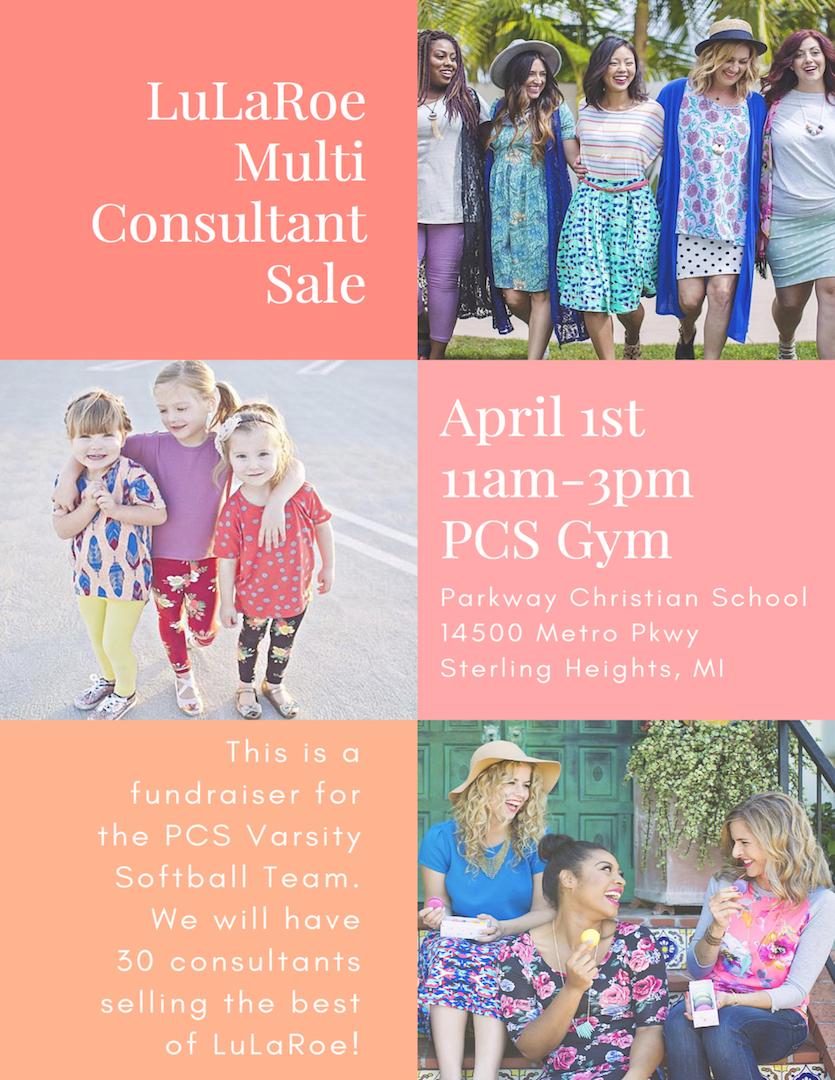 Parkway Christian School Lularoe Multi-Consultant Sale