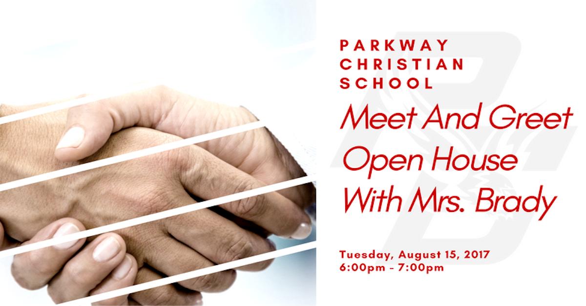 Parkway Christian School - Meet & Greet w/ Mrs. Brady