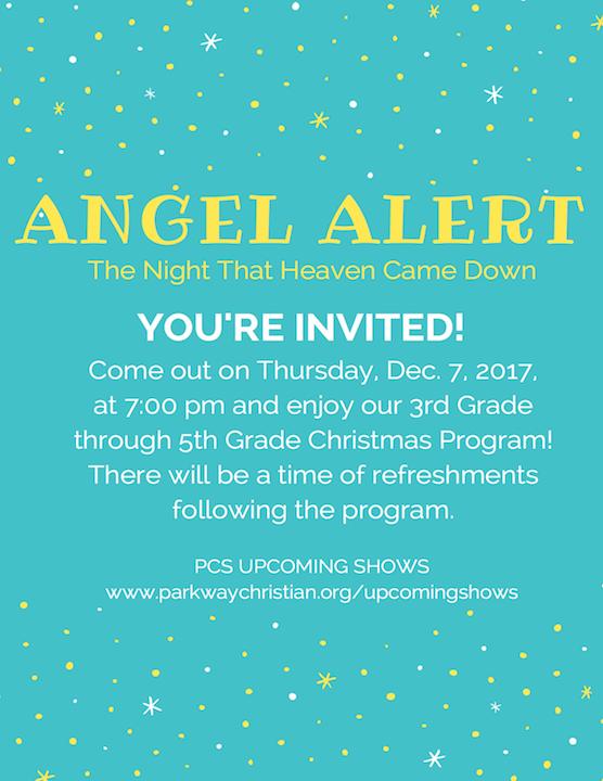 Parkway Christian School - Christmas Program