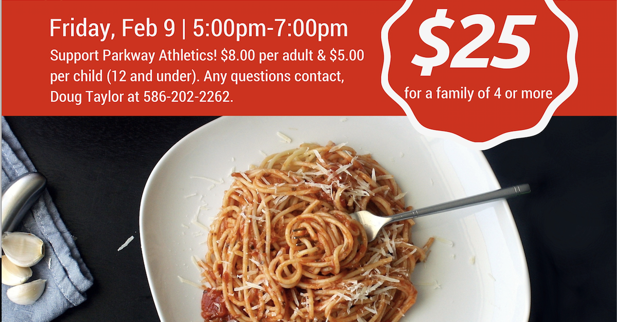 Parkway Christian School - Booster Club Spaghetti Fundraiser.jpg