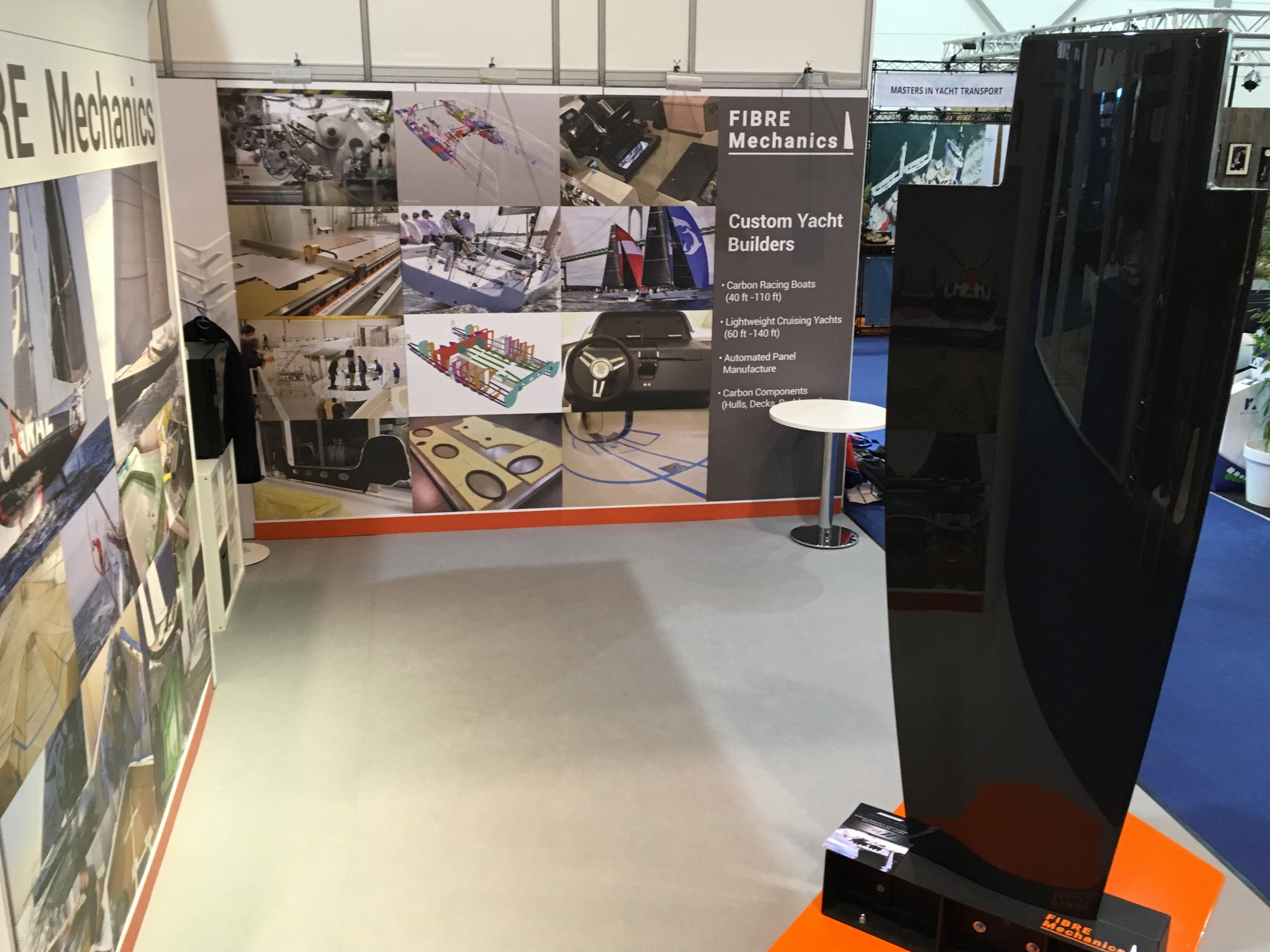 IC-37 keel at Boot Dusseldorf - you will find us in Hall 7a Stand C10