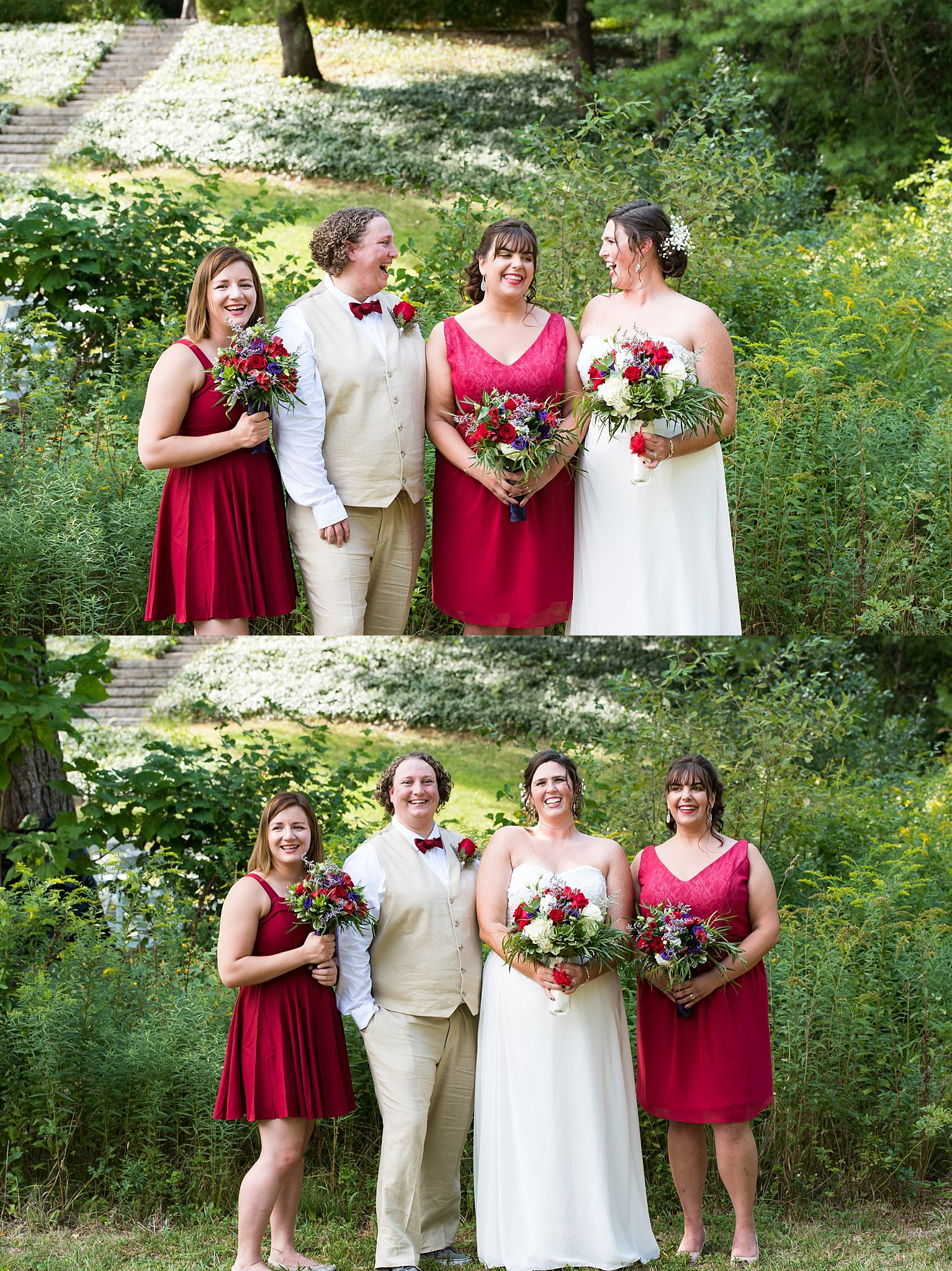 bridal party photographs in the overbrook house.jpg