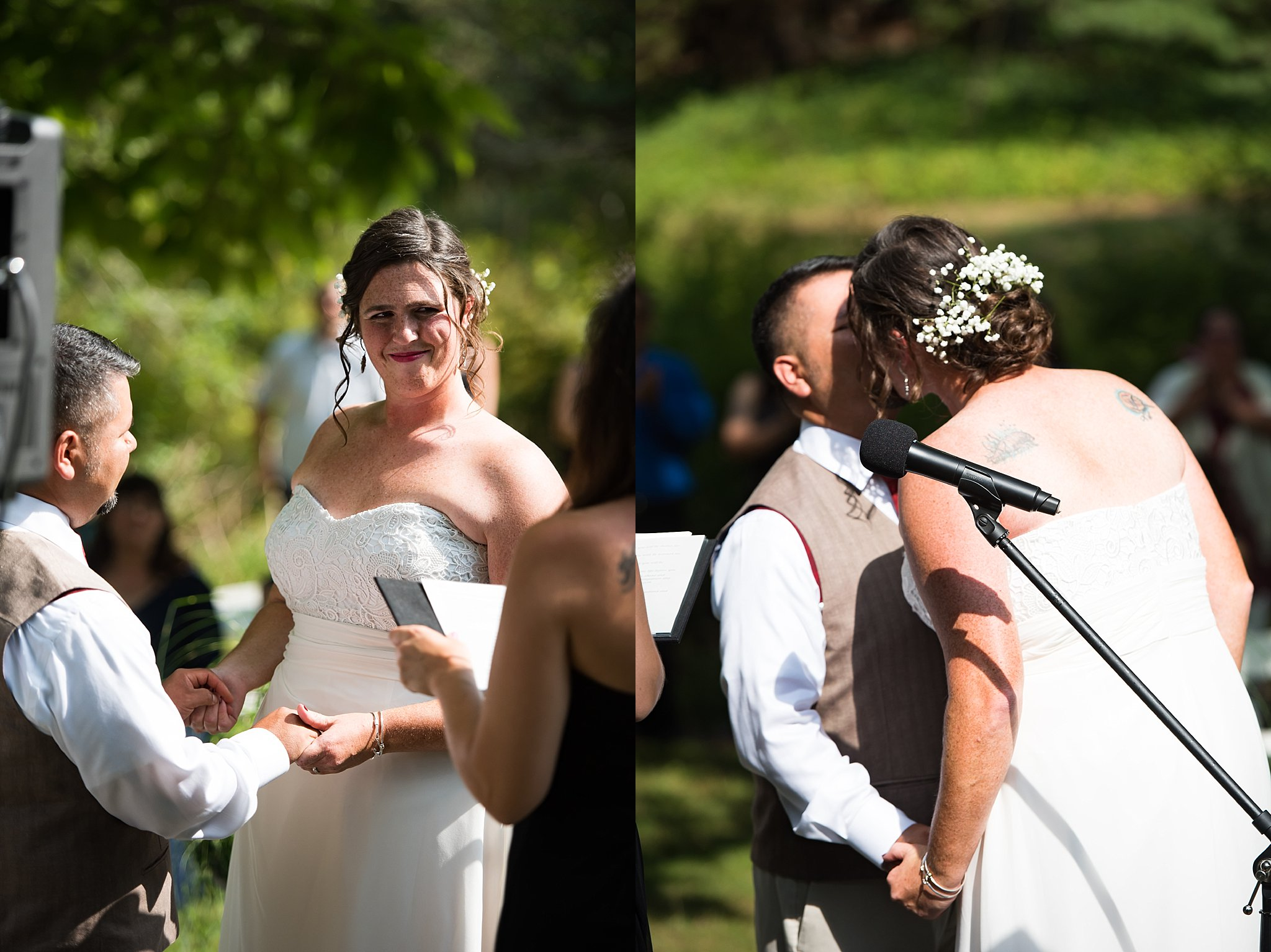 rustic wedding ceremony at the overbrook house.jpg