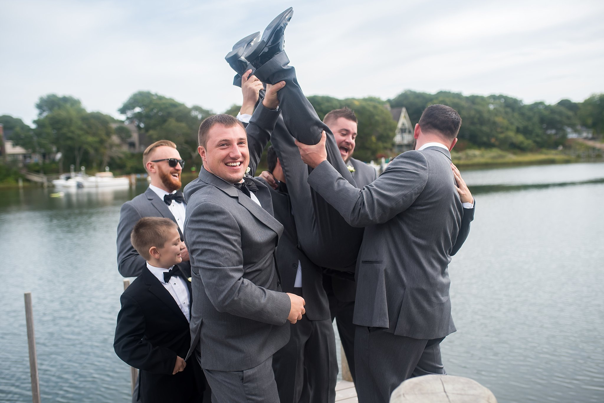fun groomsmen photographs in new england.jpg