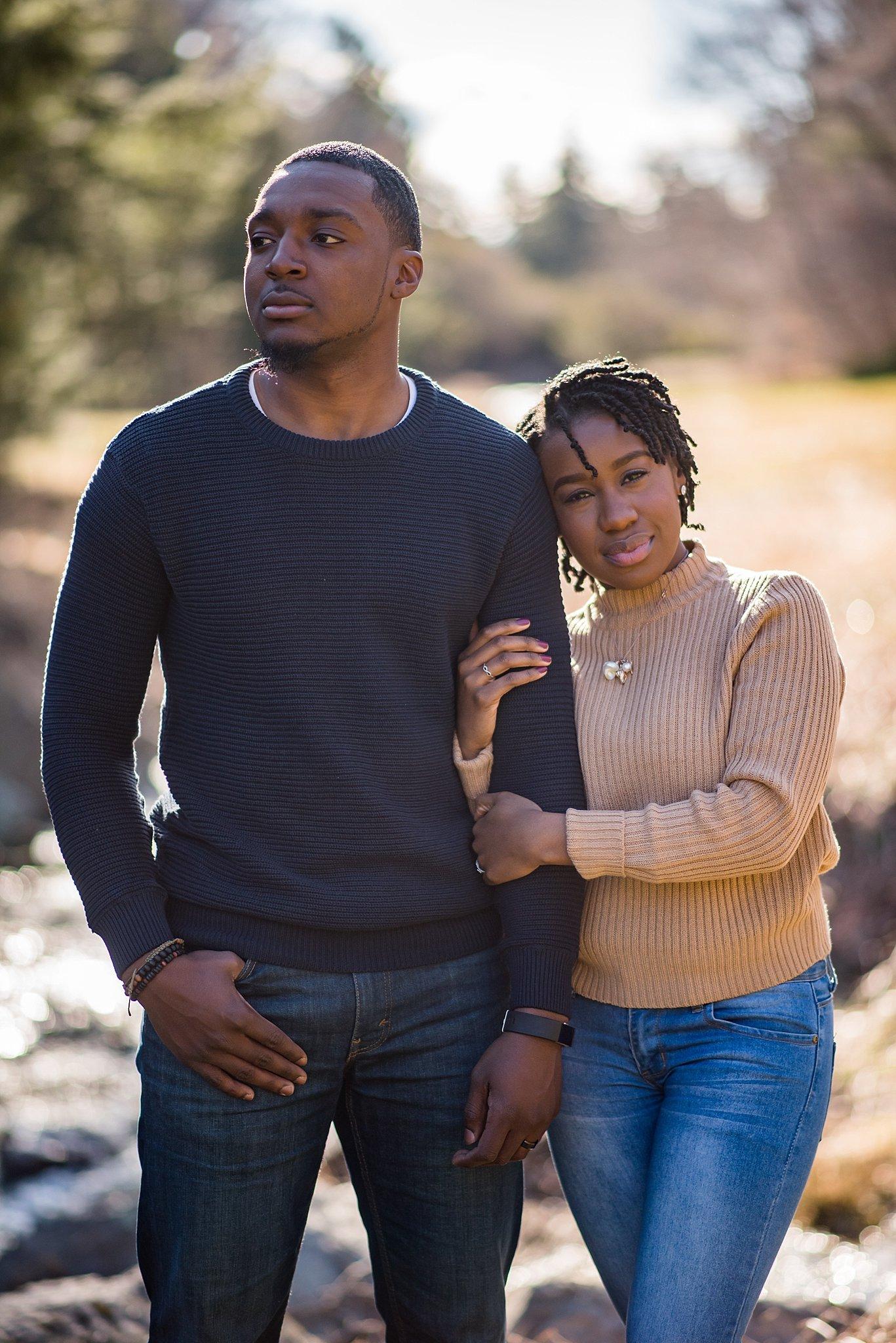 Engagement photographs at the Arnold Arboretum