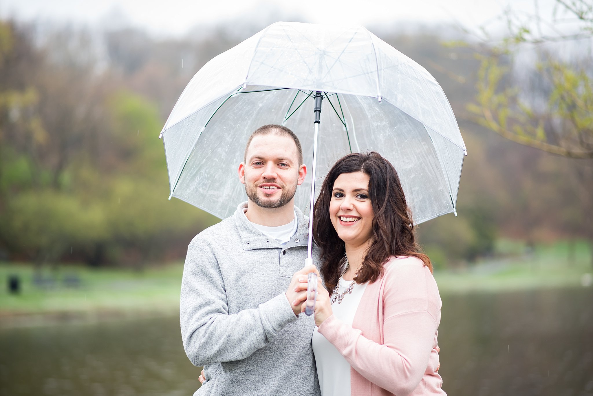 couple in love at larz anderson park