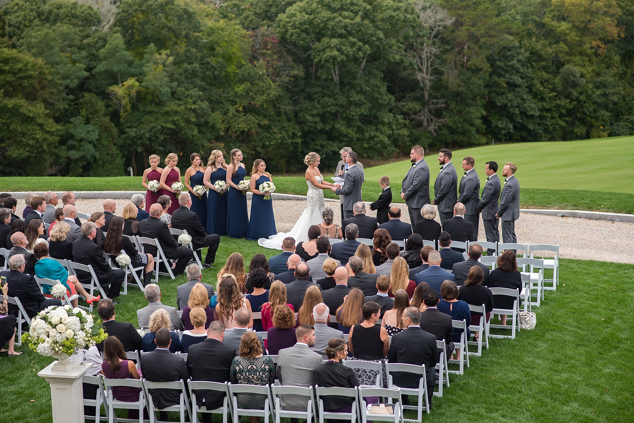 bride and groom wedding ceremony in falmouth ma.jpg