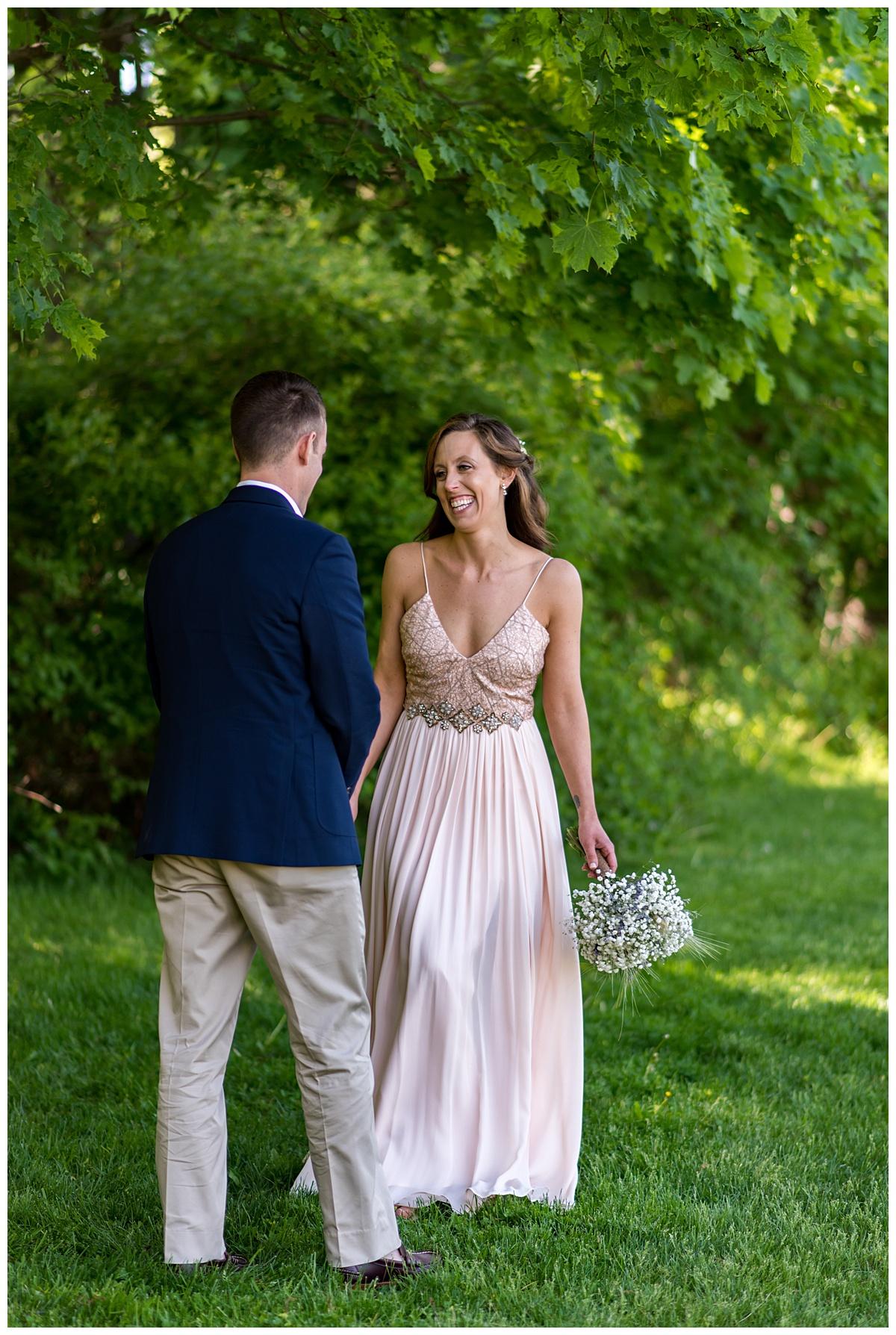 Bride and groom first look Pierce House.jpg