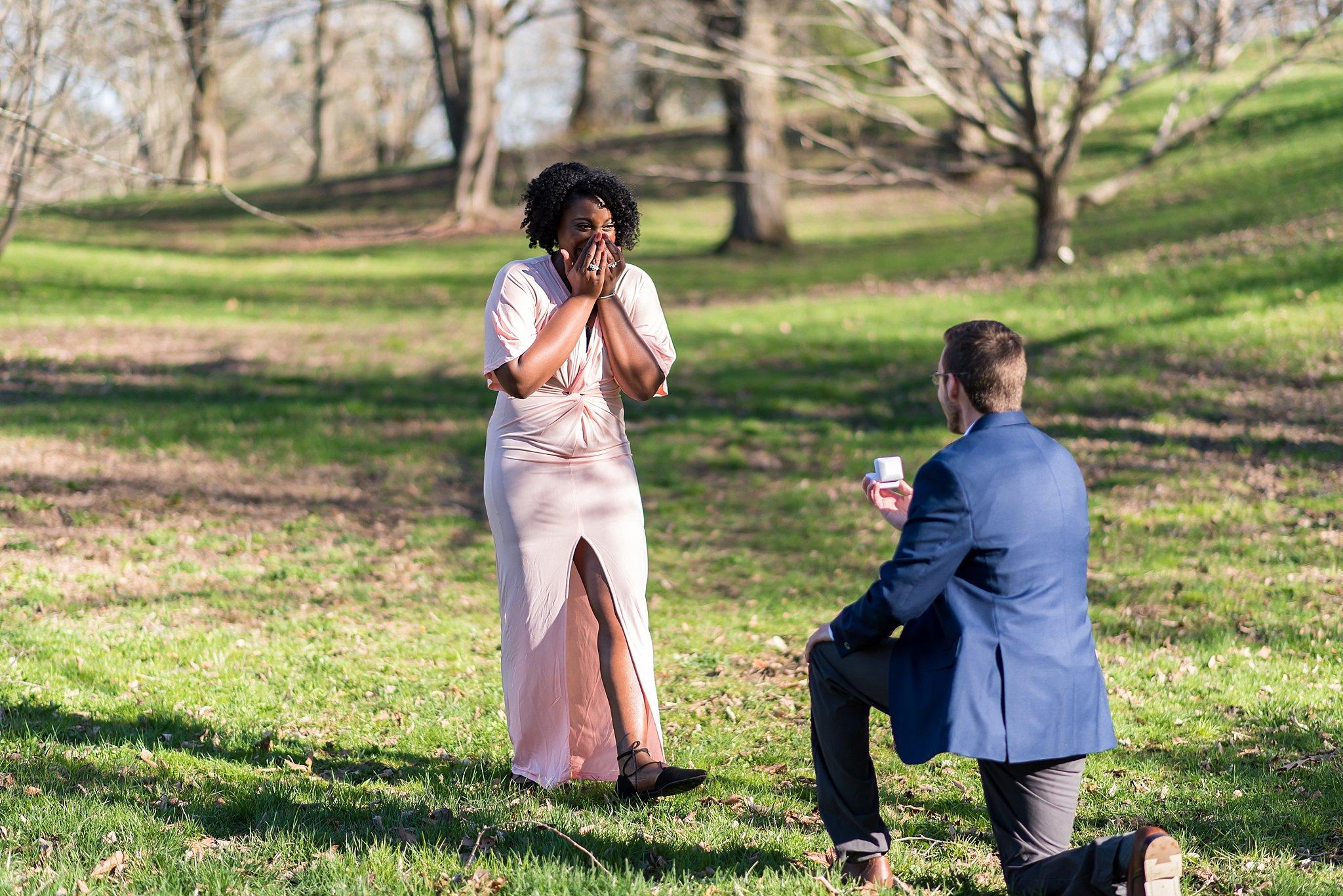 Boston wedding proposal