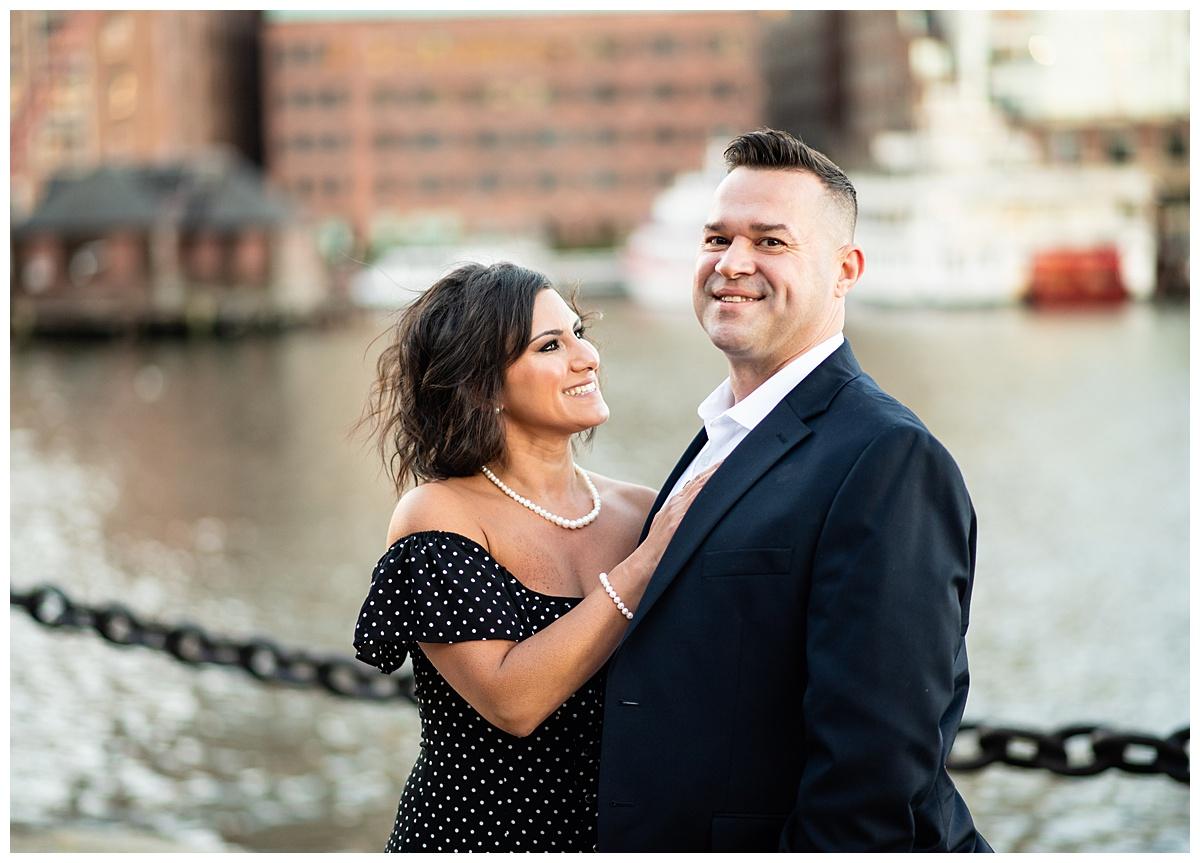 couple in love boston seaport