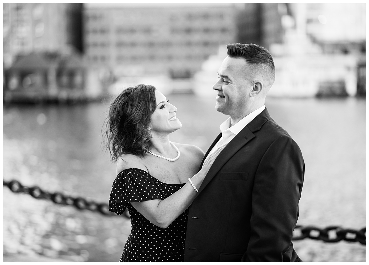 Boston seaport engagement photography