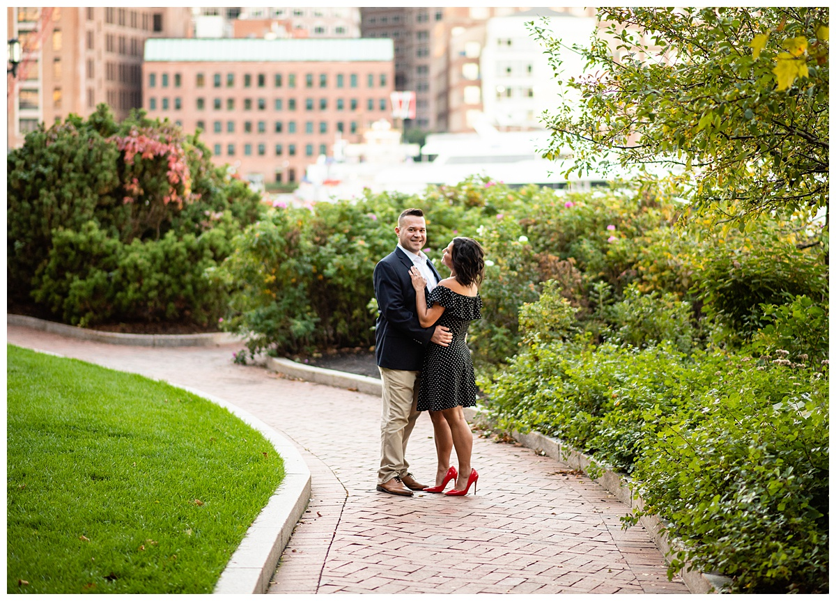 Fritzmean engagement photographer in Boston