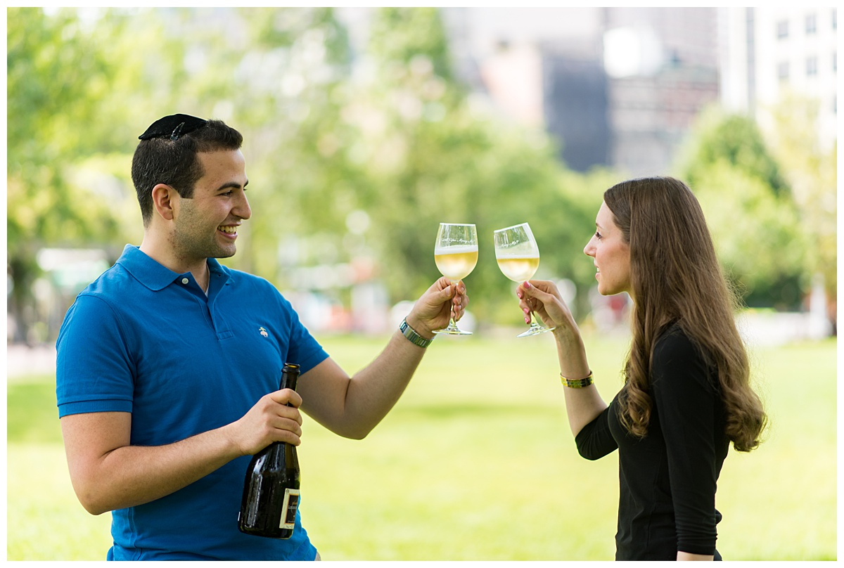 Engagement toast at columbus park in Boston.jpg