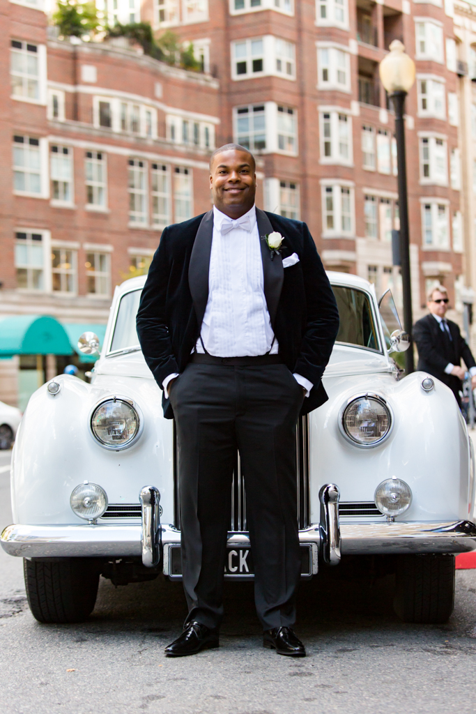 Groom with rolls royce at Boston Park Plaza.jpg