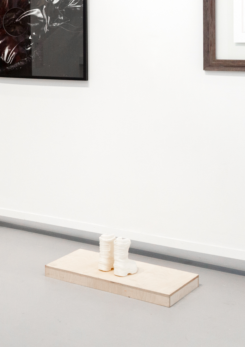 Red room | Black Views (detail) , Ground Floor Exhibition, Hyde Park Art Center