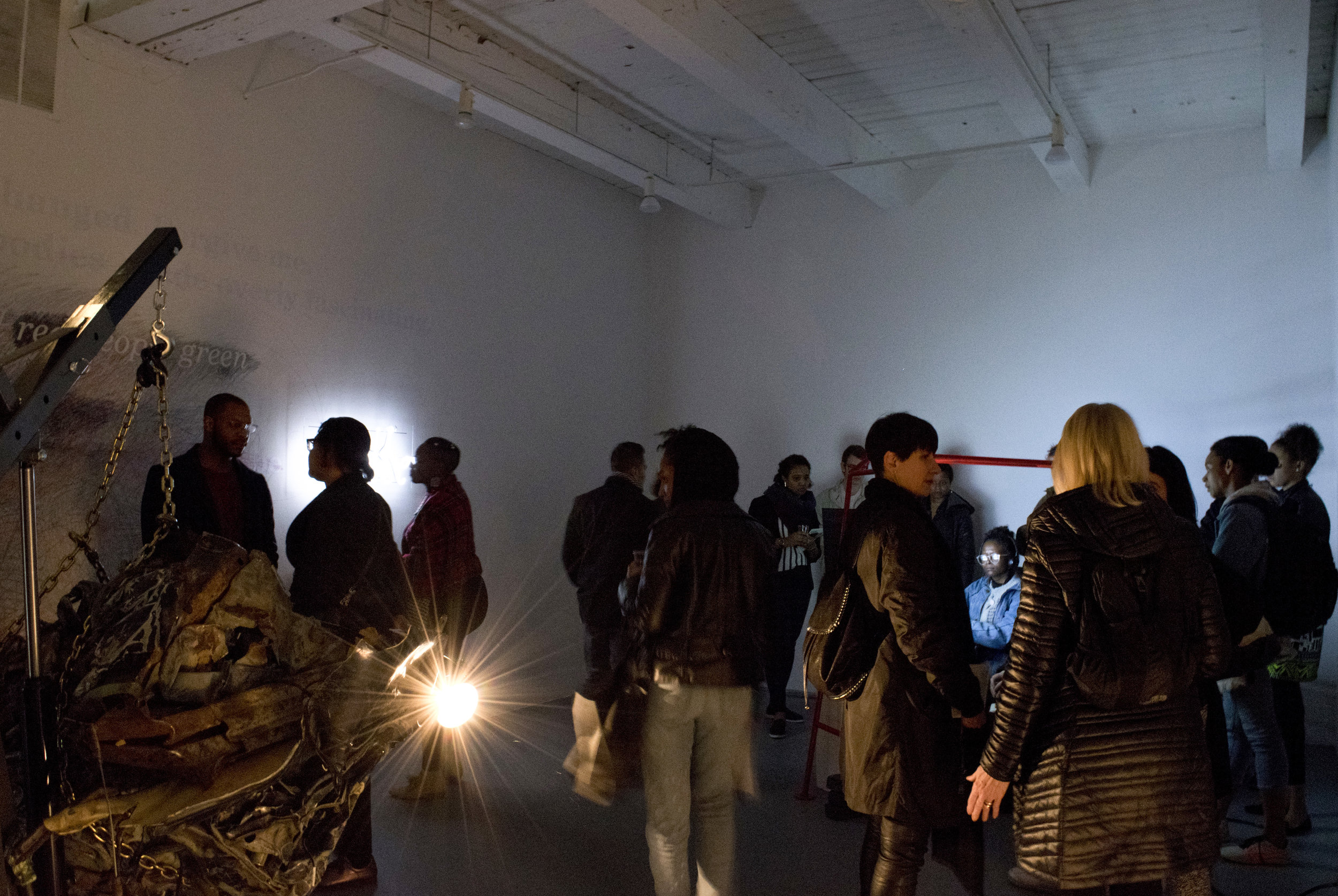 Installation View of Keeping Record Exhibition @ Chicago Artist Coalition (2018)