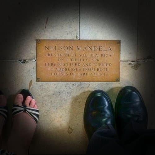 Nelson Mandela - Westminster Palace