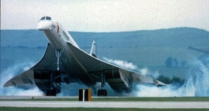 Concorde vortices