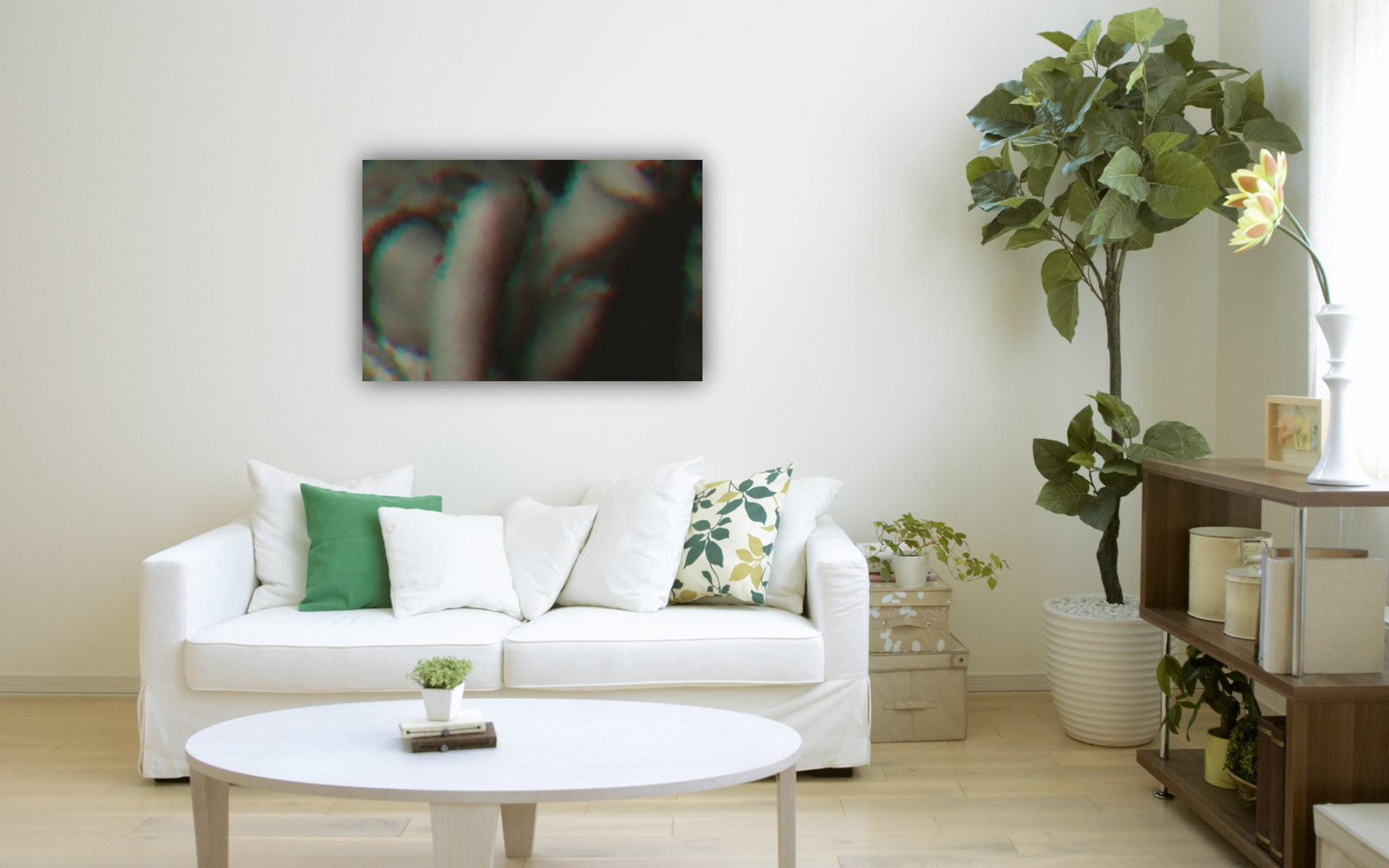 Lazy Sunday abstract available on acrylic glass and fine art prints