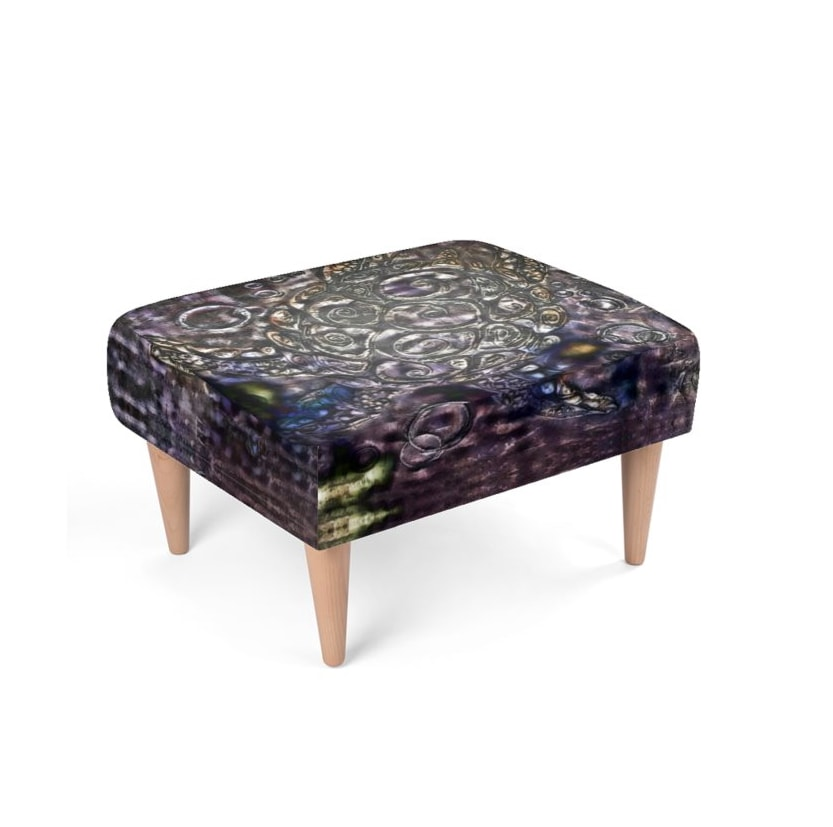 Sea Life Footstool