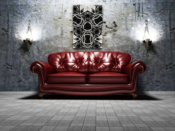 Hands Down abstract on canvas and fine art prints