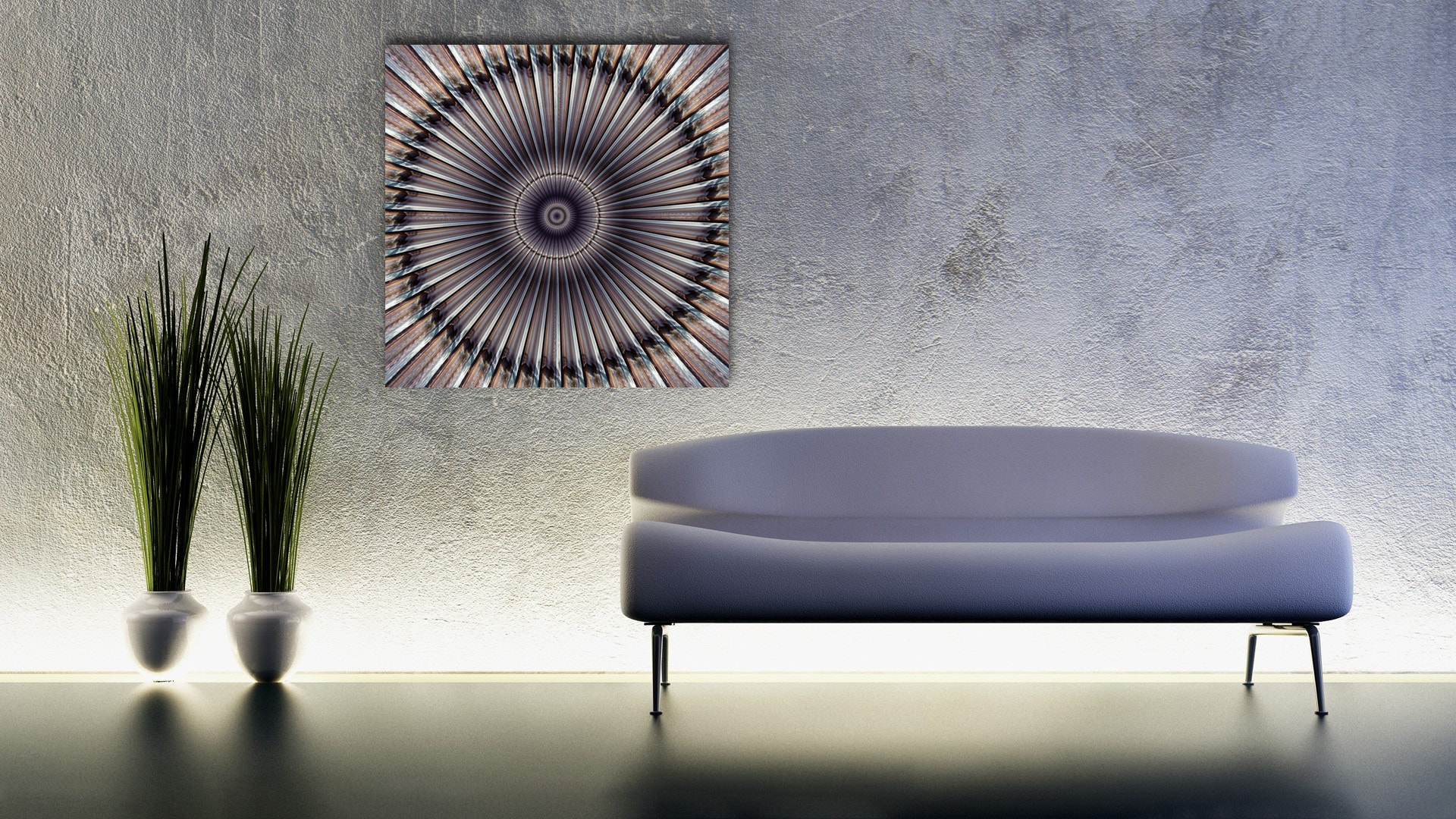 Light Fusion abstract artwork available as alu-dibond and metallic fine art prints