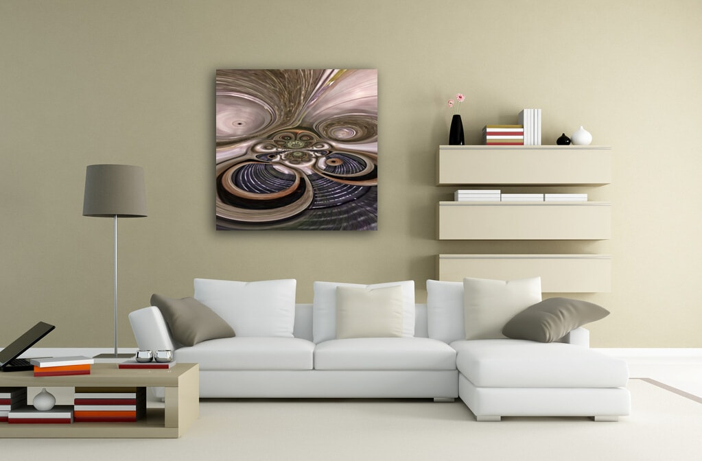 Transforming Spheres abstract artwork available on alu-dibond and metallic fine art prints