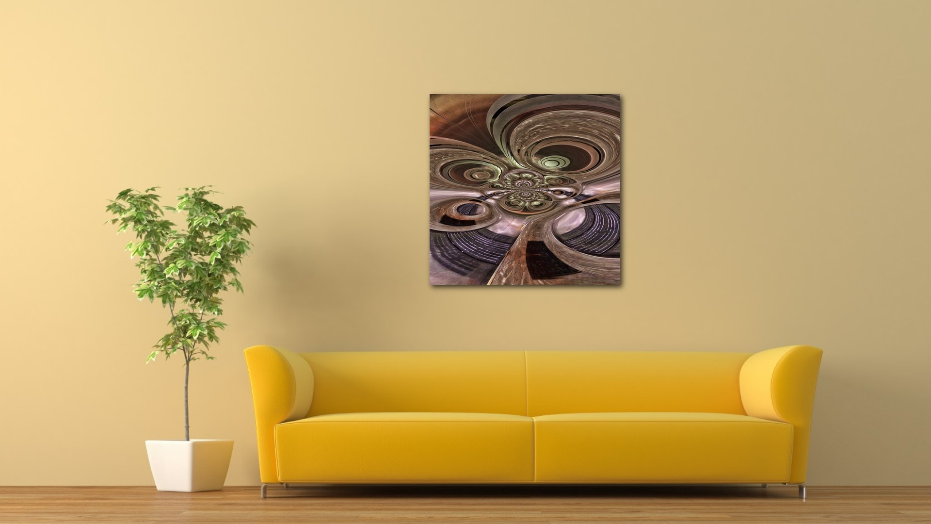 Elevated Levels abstract artwork available on alu-dibond and metallic fine art prints