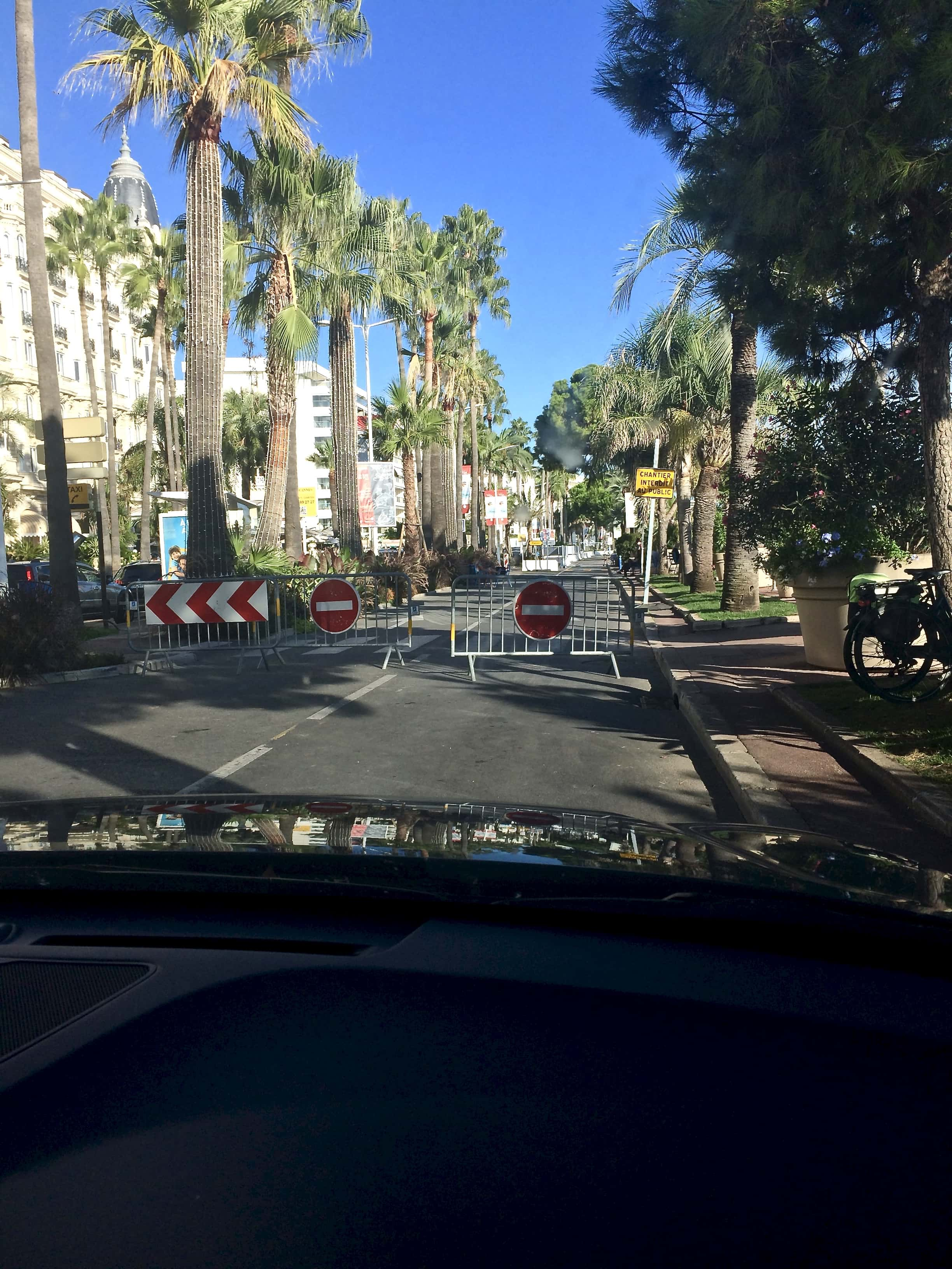 Parking in Cannes… - When all else fails, park illegally and look important !