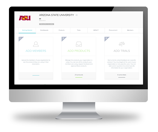 LearnPlatform, ASU, White-label, edtech management platform